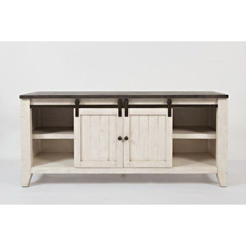 """Picture of MADISON COUNTY 70"""" BARN DOOR CONSOLE"""