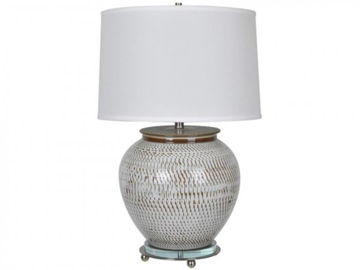 "Picture of 29"" CERAMIC TABLE LAMP"
