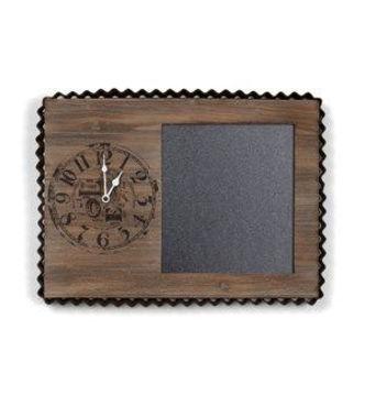 Picture of DECORITIVE WALL CLOCK/BLACKBOARD