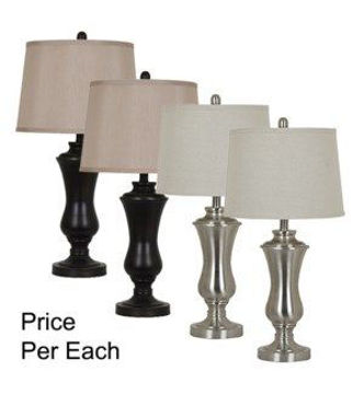 "Picture of 27"" METAL TABLE LAMP"