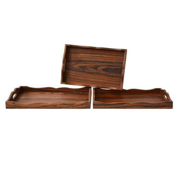 Picture of LARGE WOOD TRAY