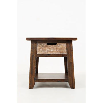 Picture of PAINTED CANYON END TABLE