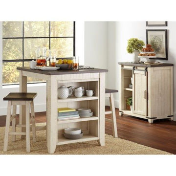 Picture of MADISON COUNTY 3PC COUNTER HEIGHT DINING SET