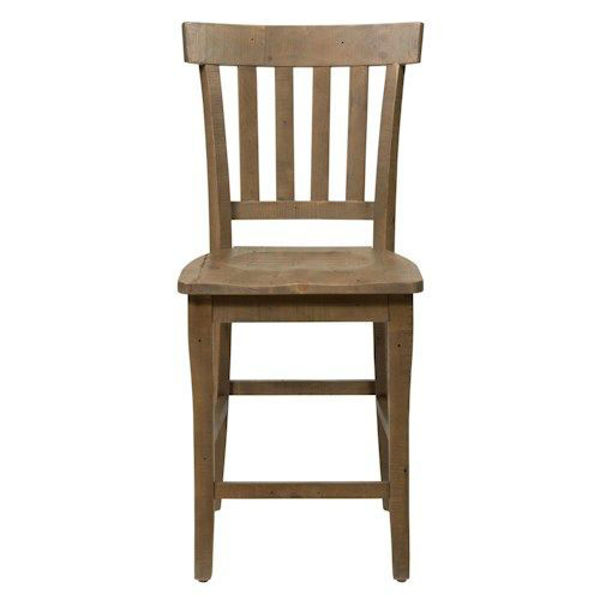 Picture of SLATER MILL SLAT BACK COUNTER HEIGHT STOOL