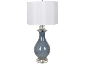 "Picture of 32""H CERAMIC/CRYSTAL LAMP"