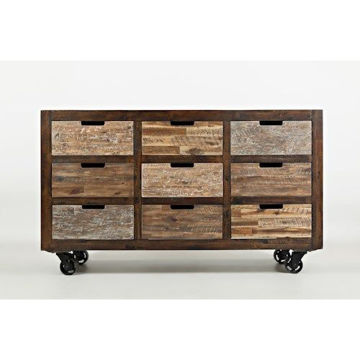 Picture of PAINTED CANYON 9 DRAWER ACCENT CHEST