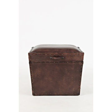 Picture of GLOBAL ARCHIVE LEATHER STORAGE CHEST