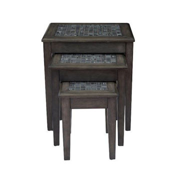 Picture of GREY MOSAIC NESTING TABLE
