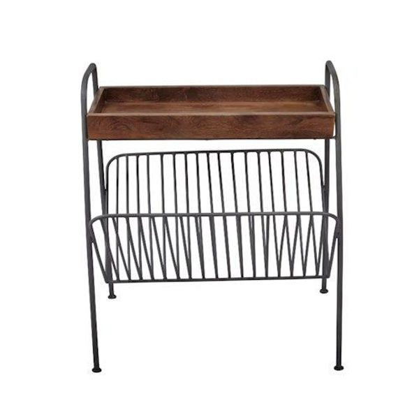Picture of GLOBAL ARCHIVE MAGAZINE RACK CHAIRSIDE TABLE