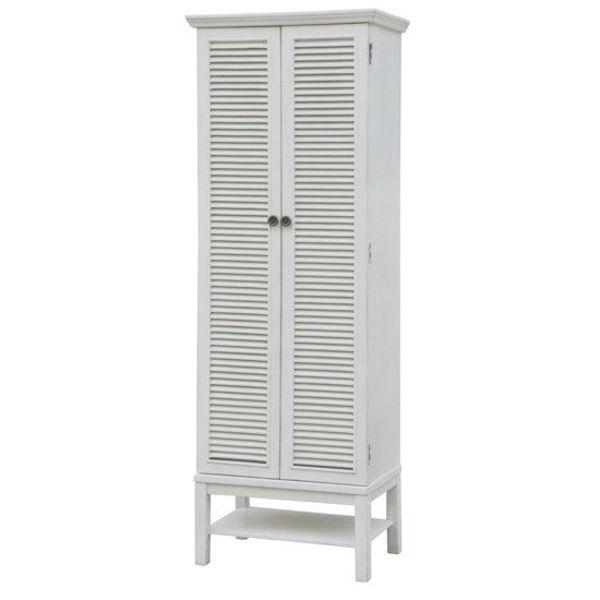 Picture of MAGNOLIA LOUVERED 2-DOOR STORAGE CABINET