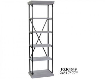 Picture of HANOVER METAL & WHITE WOOD ETAGERE