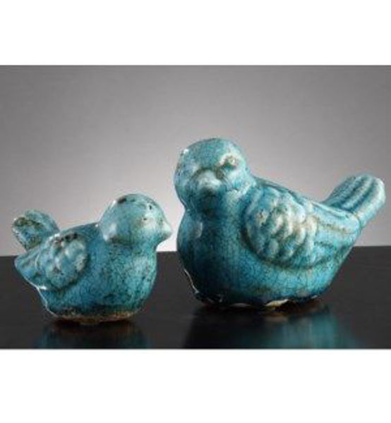 Picture of LARGE WARBLER STATUE