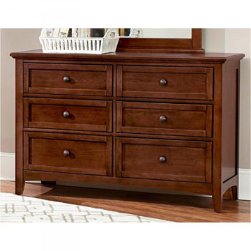 Picture of BARNBURNER 28 SERIES 6-DRAWER DBL DRESSER