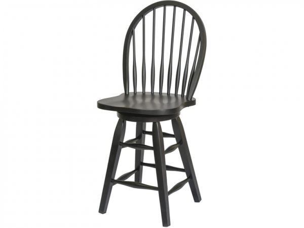 """Picture of ST. MICHAEL 24"""" SWIVEL BARSTOOL"""