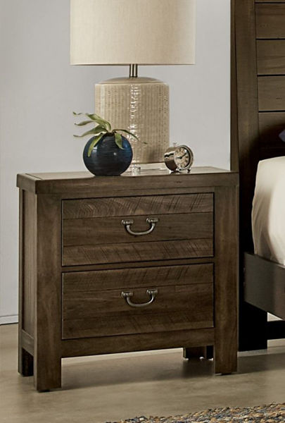 Picture of URBAN CROSSING CANTERBURY  2 DRAWER NIGHTSTAND W/USB