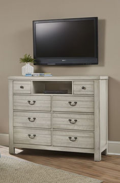 Picture of URBAN CROSSING CLOUD 9 SERIES 8 DRAWER MEDIA CHEST
