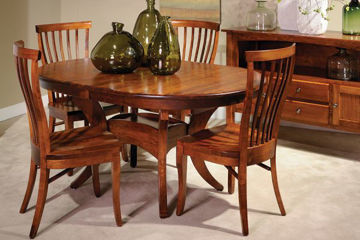 Picture of TRESTLE TABLE