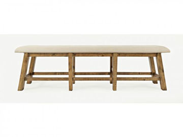 Picture of TELLURIDE UPHOLSTERED COUNTER HEIGHT BENCH