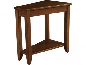 Picture of WEDGE CHAIRSIDE TABLE
