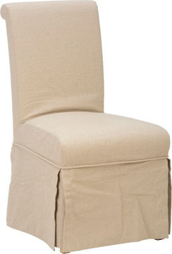 Picture of SLATER MILL SLIPCOVER SKIRTED PARSON CHAIR