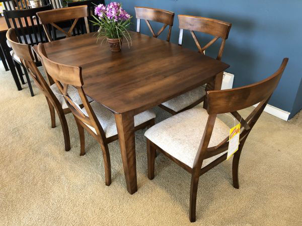"""Picture of 42x64 TABLE W/1-20"""" LEAF"""
