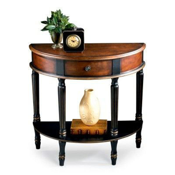 Picture of DEMILUNE CONSOLE TABLE