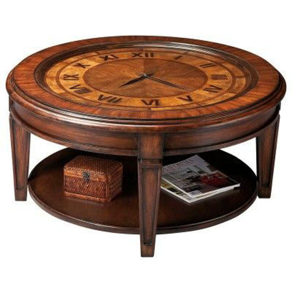 Picture of CLOCK COCKTAIL TABLE