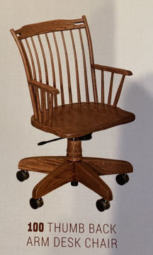 Picture of THUMB BACK OFFICE CHAIR