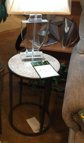 Picture of MODERN BASIC ROUND END TABLE