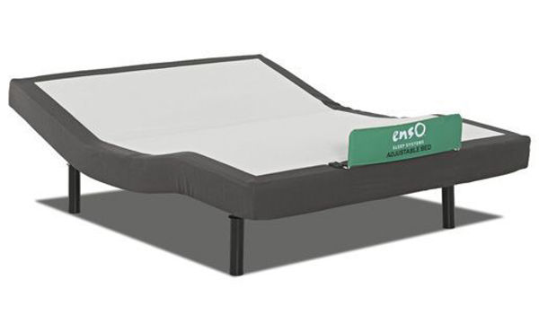 Picture of ENSO HEAD & FOOT W/MASSAGE ADJ BED BASE QUEEN SIZE