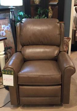 Picture of LEATHER MOTORIZED RECLINER