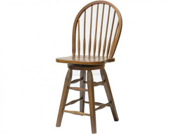 "Picture of ST. MICHAEL 24"" SWIVEL BARSTOOL"