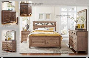 """Picture of REMINISCE QUEEN 25"""" STORAGE FOOTBOARD"""
