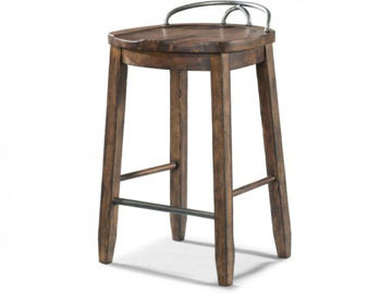 Picture of TRISHA YEARWOOD HOME COWBOY SADDLE STOOL