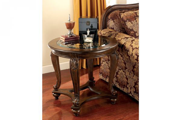 Picture of NORCASTLE ROUND END TABLE