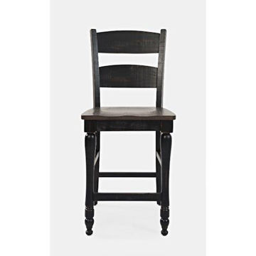 Picture of LADDER BACK COUNTER STOOL