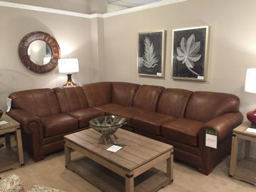 Picture of MONROE LEATHER SECTIONAL