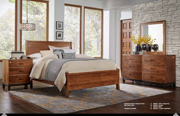 Picture of TRIESTE COMPLETE QUEEN BED