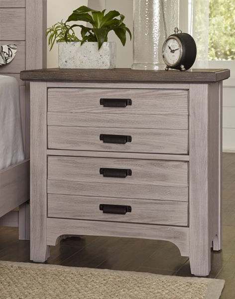 Picture of BUNGALOW 2 DRAWER NIGHTSTAND