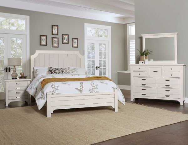 Picture of BUNGALOW FULL SIZED COMPLETE  UPHOLSTERED  BED