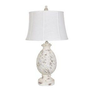 "Picture of 30.5"" PINEAPPLE TABLE LAMP"