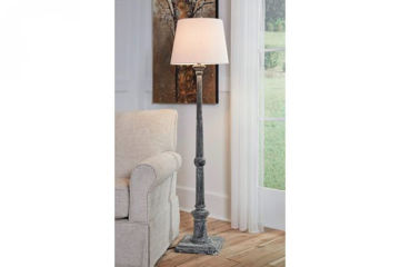 Picture of ZIMBA WOOD FLOOR LAMP