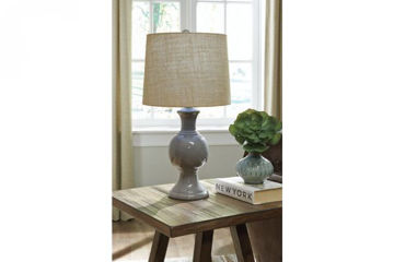 Picture of MAGDALIA CERAMIC TABLE LAMP