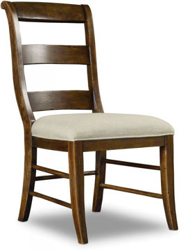 Picture of ARCHIVIST LADDERBACK SIDE CHAIR