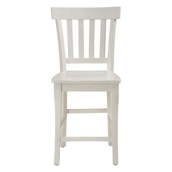 Picture of MADAKET SLAT BACK COUNTER HEIGHT STOOL