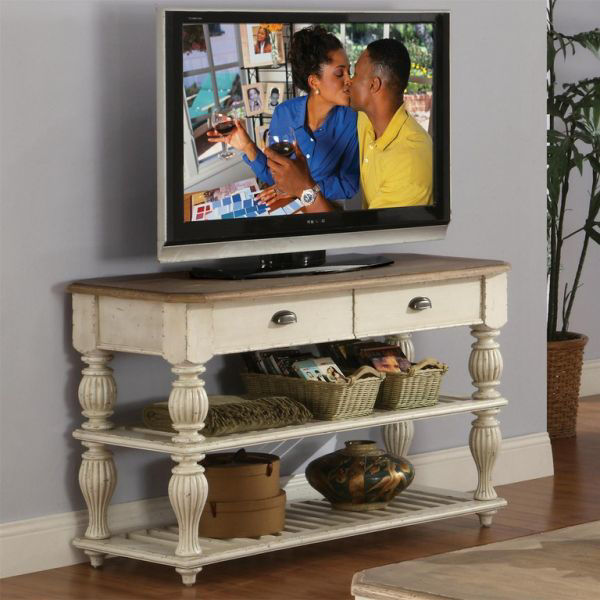 Picture of COVENTRY TWO TONE CONSOLE TABLE