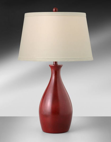 Picture of CARDINAL RED TABLE LAMP