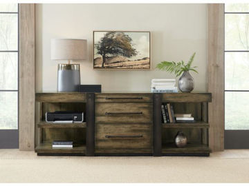Picture of CRAFTED LEG DESK CREDENZA