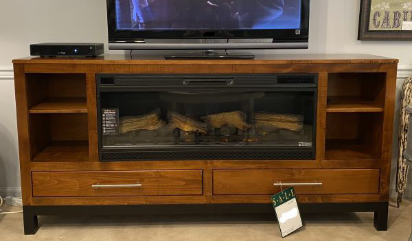 Picture of PIERRE MIDSIZE MEDIA CONSOLE W/FIREPLACE