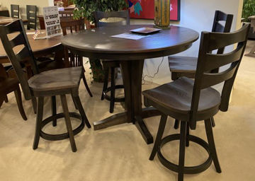 Picture of SINGLE PEDESTAL COUNTER HEIGHT TABLE